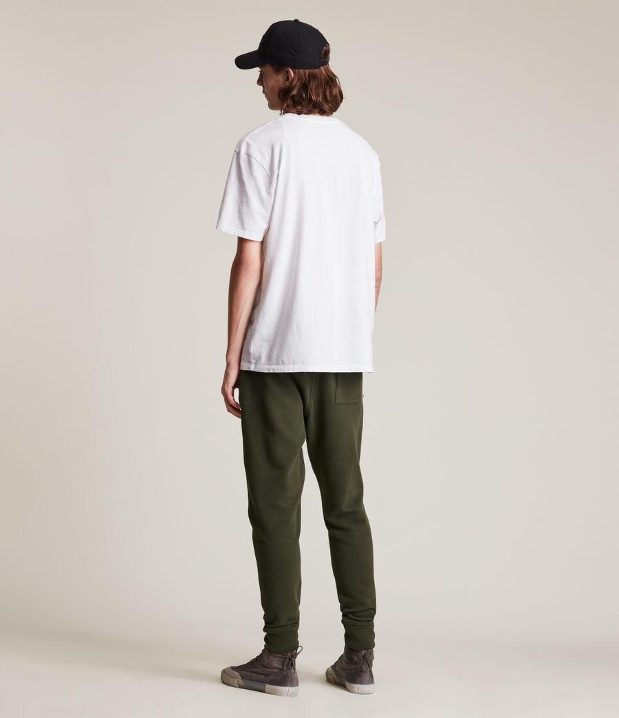 Herren Raven Cuffed Slim Sweatpants (marsh_green) - Image 4