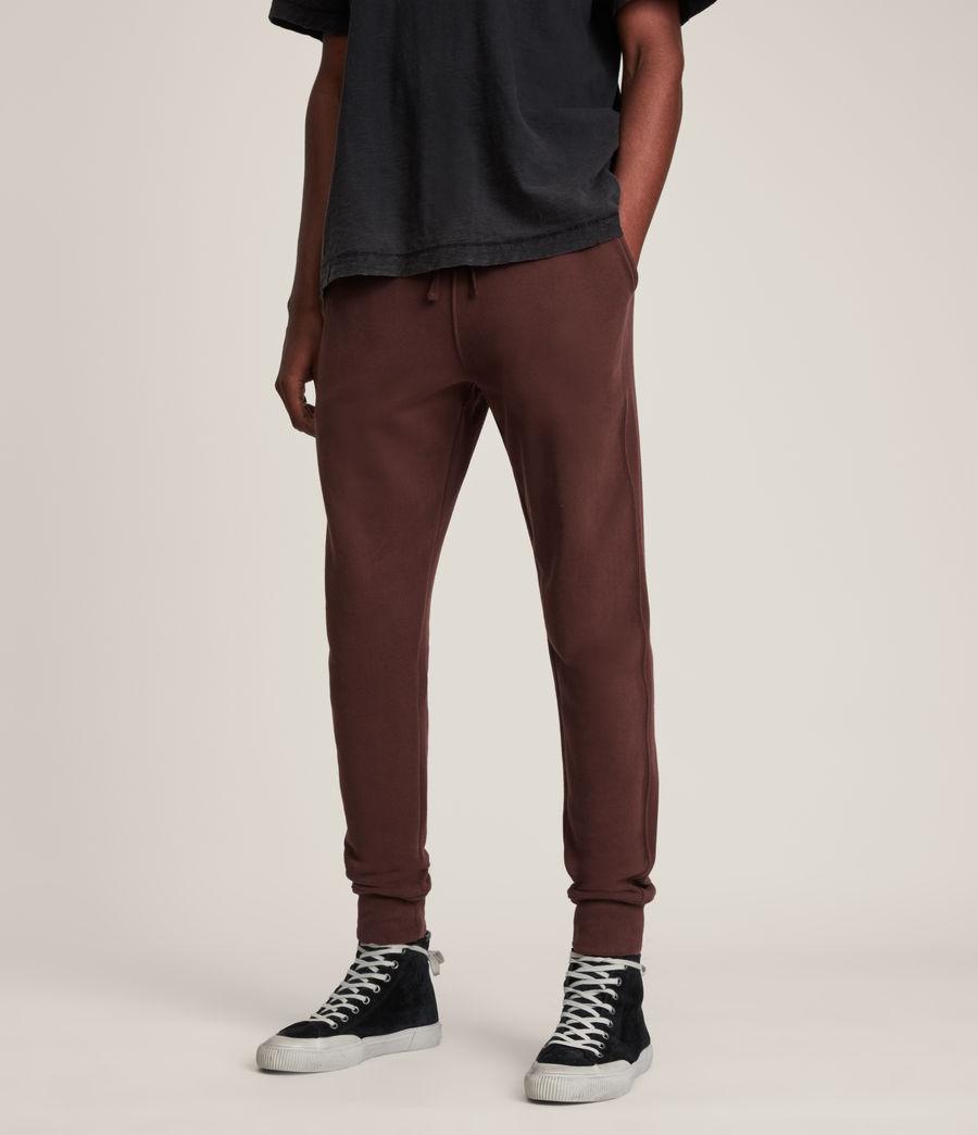 Men's Raven Cuffed Slim Sweatpants (damson_red) - Image 2