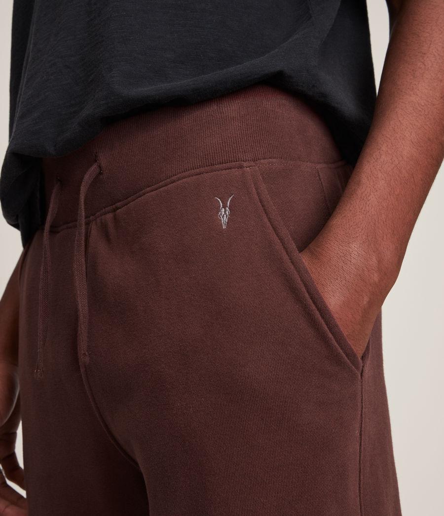 Men's Raven Cuffed Slim Sweatpants (damson_red) - Image 3