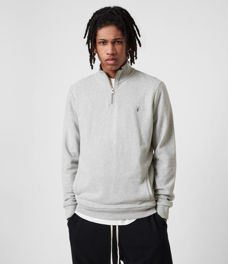 Men's Raven Half Zip Sweatshirt (grey_marl) - Image 1