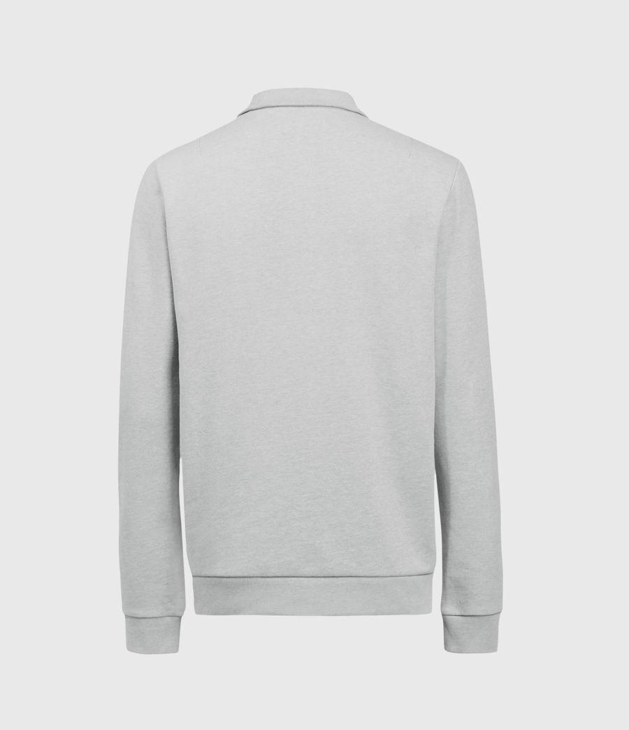 Men's Raven Half Zip Sweatshirt (grey_marl) - Image 3