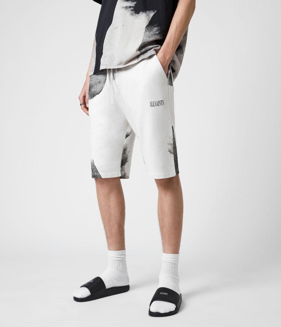 Herren Santana Sweat Shorts (grey_jet_black) - Image 1