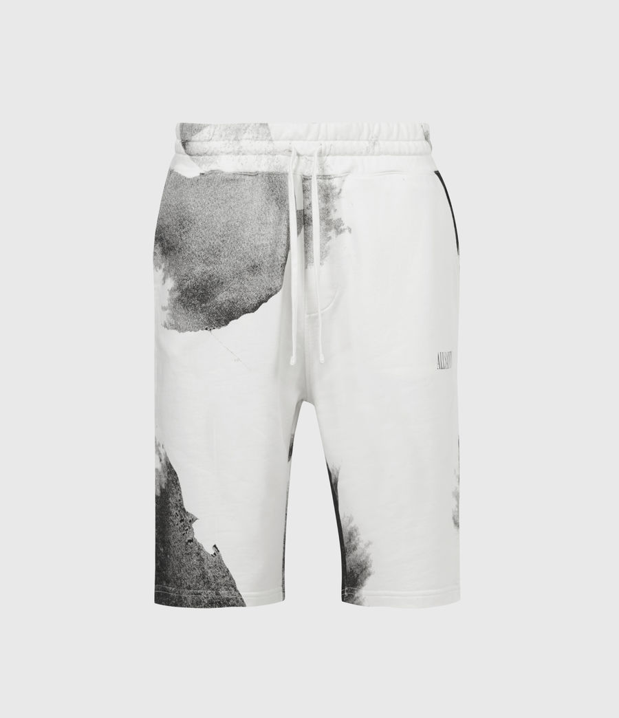 Herren Santana Sweat Shorts (grey_jet_black) - Image 2
