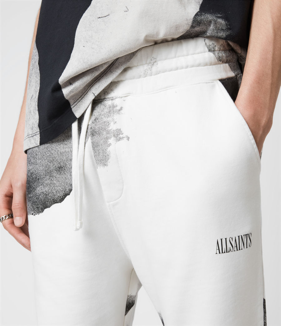 Herren Santana Sweat Shorts (grey_jet_black) - Image 4