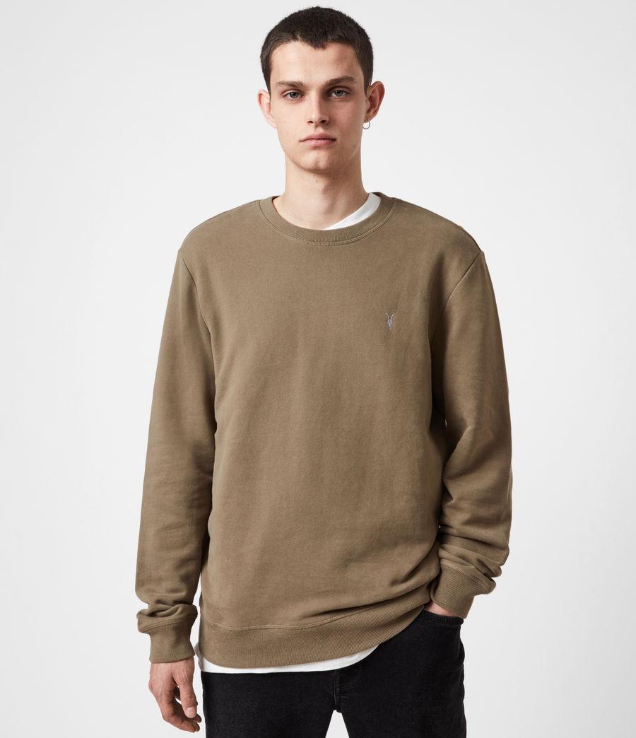 Herren Raven Crew Sweatshirt (saguaro_green) - Image 1