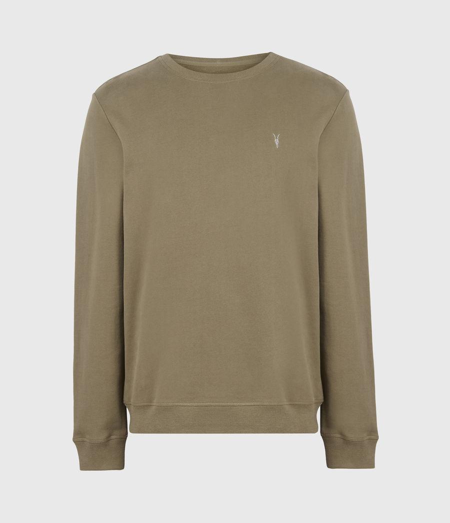 Herren Raven Crew Sweatshirt (saguaro_green) - Image 2