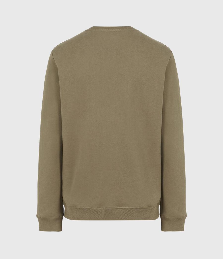 Herren Raven Crew Sweatshirt (saguaro_green) - Image 3