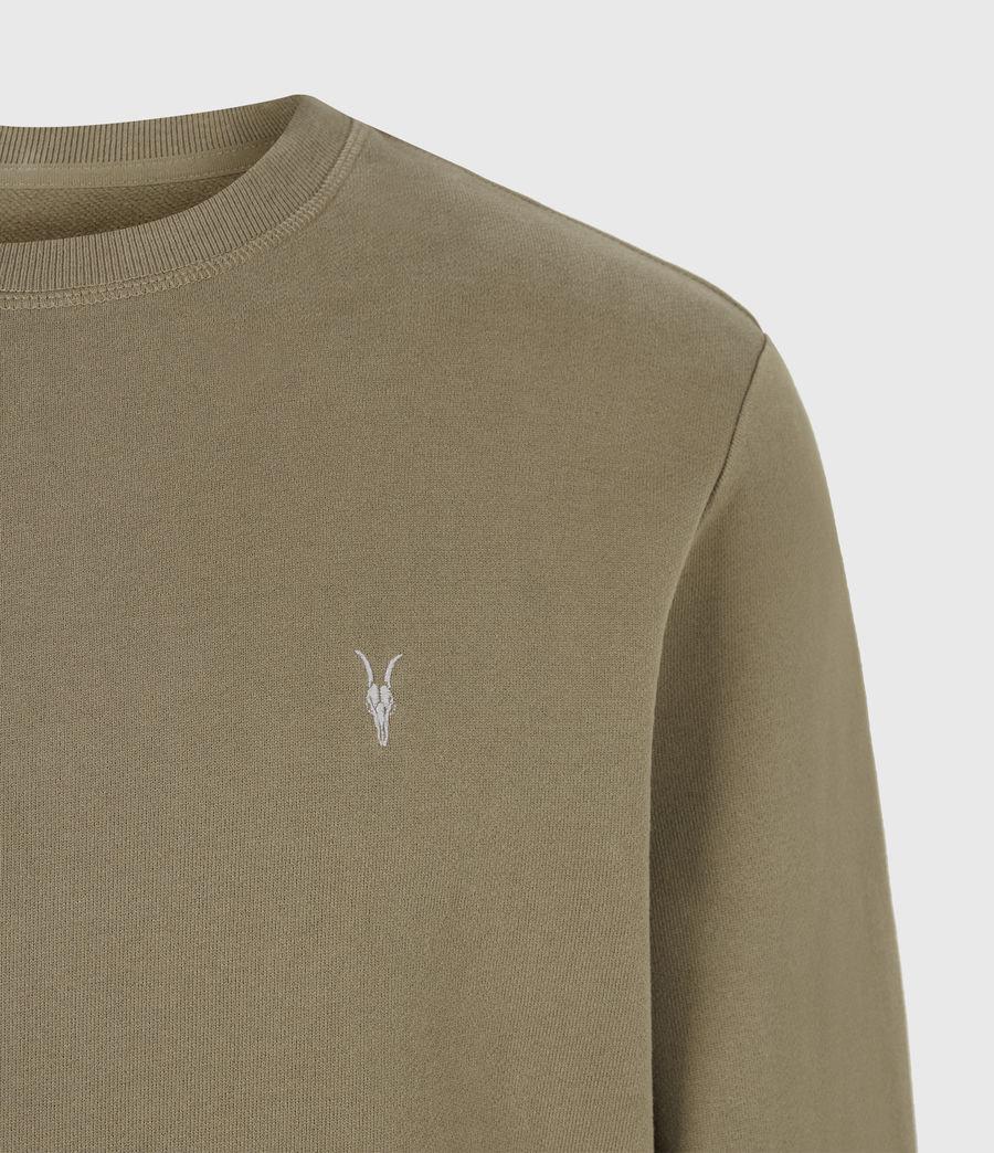Herren Raven Crew Sweatshirt (saguaro_green) - Image 5