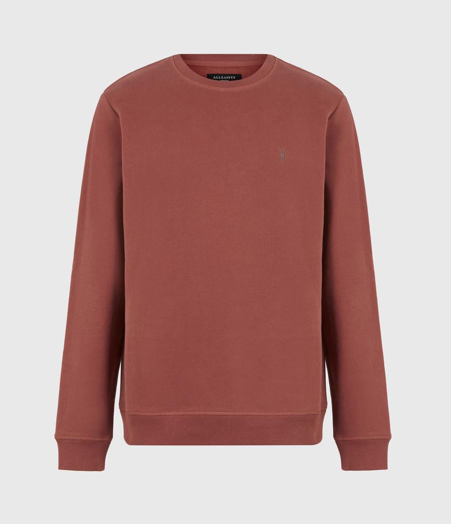 Men's Raven Crew Sweatshirt (clay_red) - Image 2