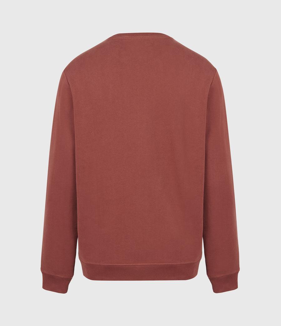 Men's Raven Crew Sweatshirt (clay_red) - Image 3
