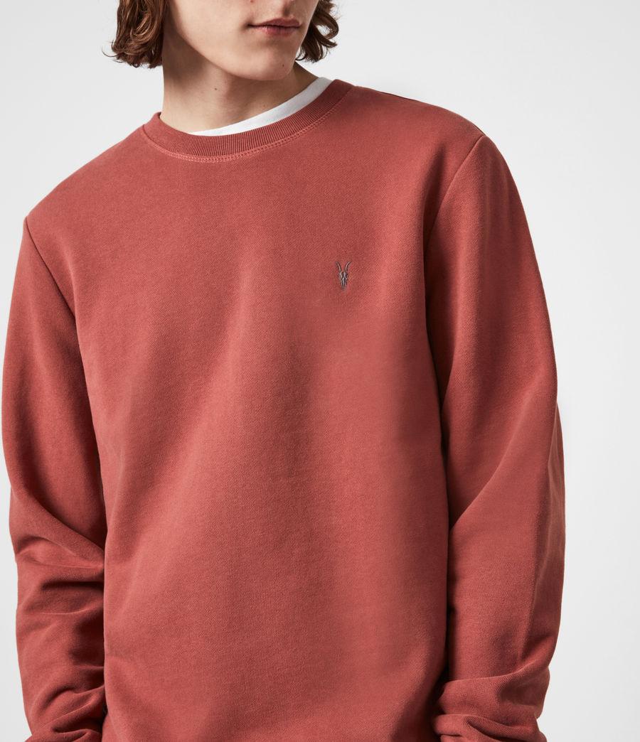 Men's Raven Crew Sweatshirt (clay_red) - Image 4