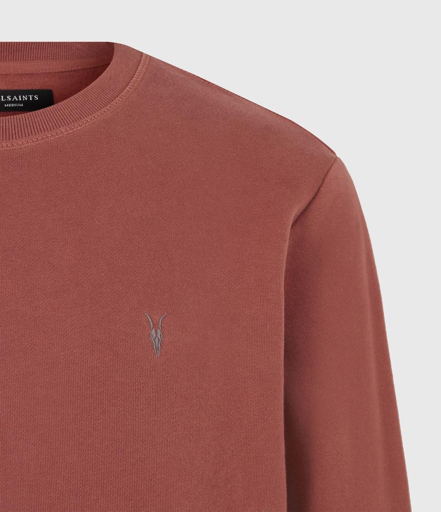 Men's Raven Crew Sweatshirt (clay_red) - Image 5