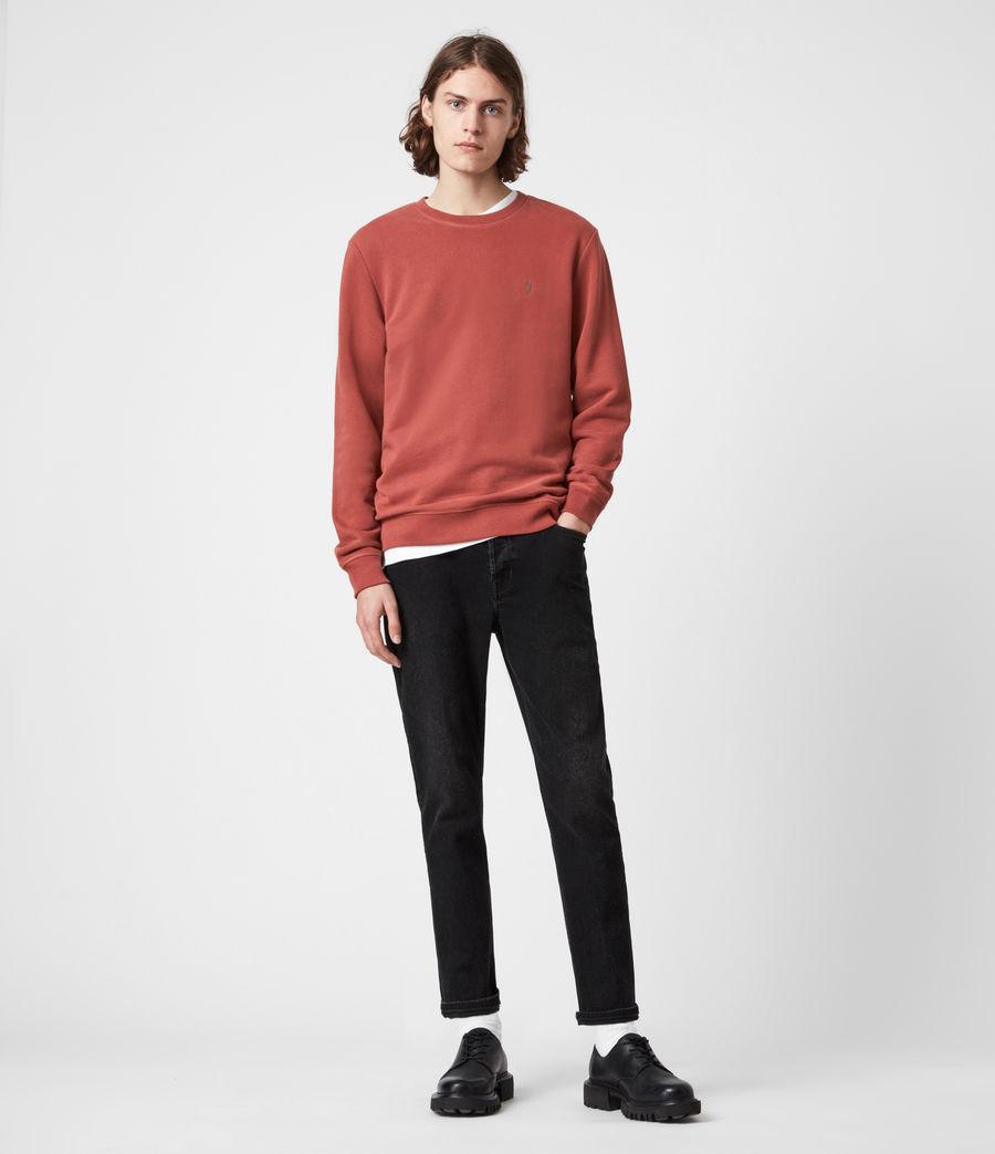Men's Raven Crew Sweatshirt (clay_red) - Image 6