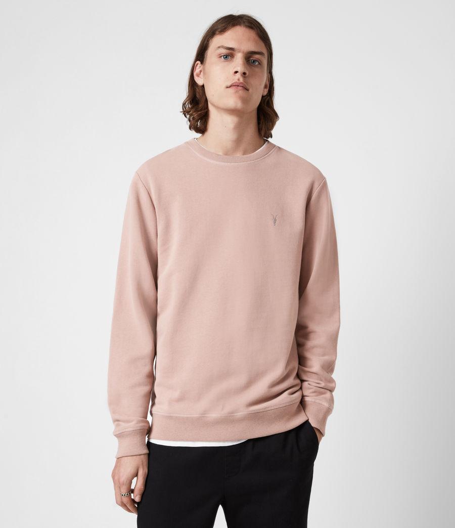 Herren Raven Crew Sweatshirt (smokey_pink) - Image 1