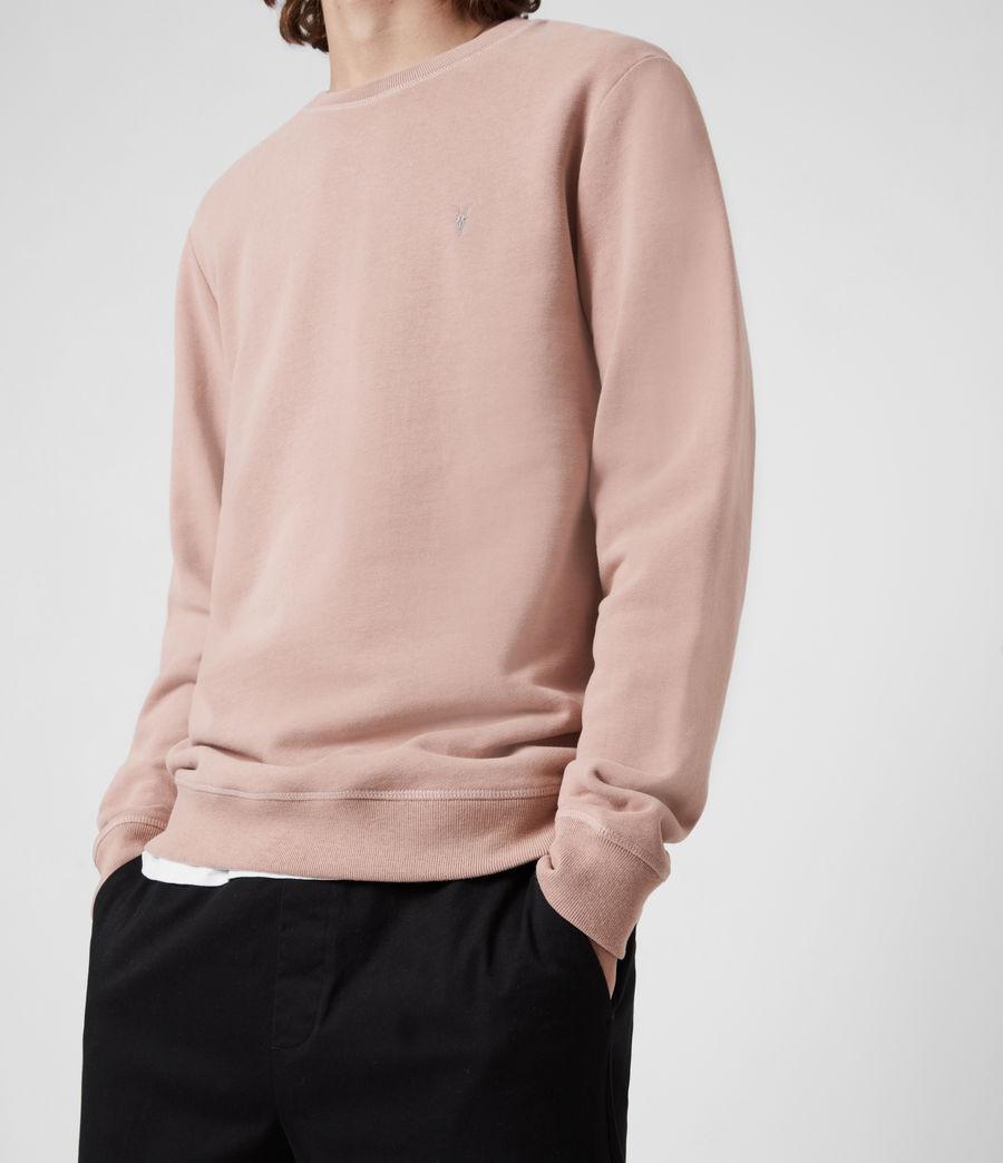 Herren Raven Crew Sweatshirt (smokey_pink) - Image 4