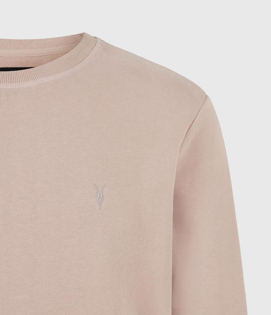 Herren Raven Crew Sweatshirt (smokey_pink) - Image 5
