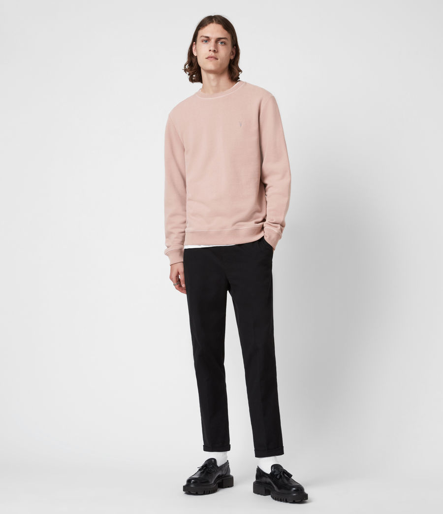 Herren Raven Crew Sweatshirt (smokey_pink) - Image 6
