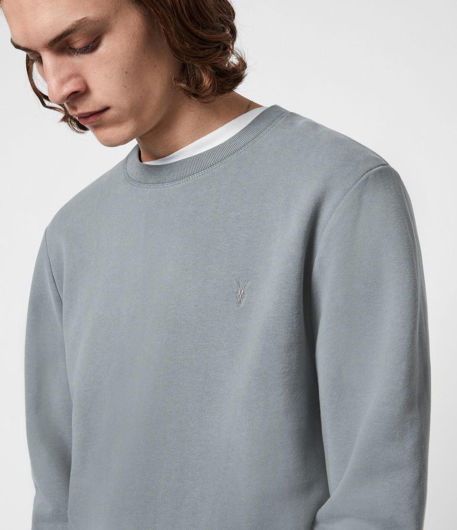 Herren Raven Crew Sweatshirt (gothic_grey) - Image 4