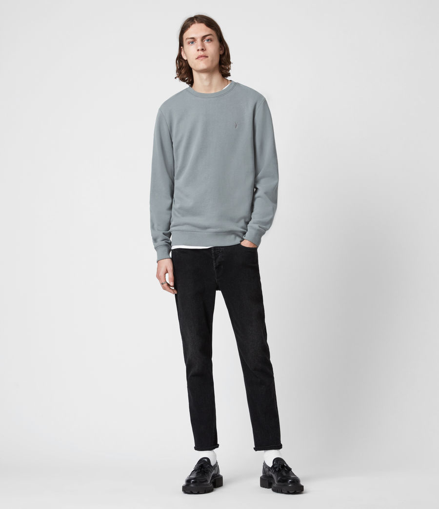 Herren Raven Crew Sweatshirt (gothic_grey) - Image 6