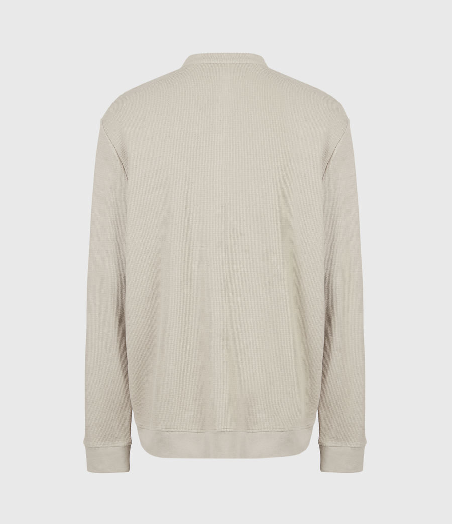 Mens Wrenley Organic Cotton Henley (corazone_taupe) - Image 3