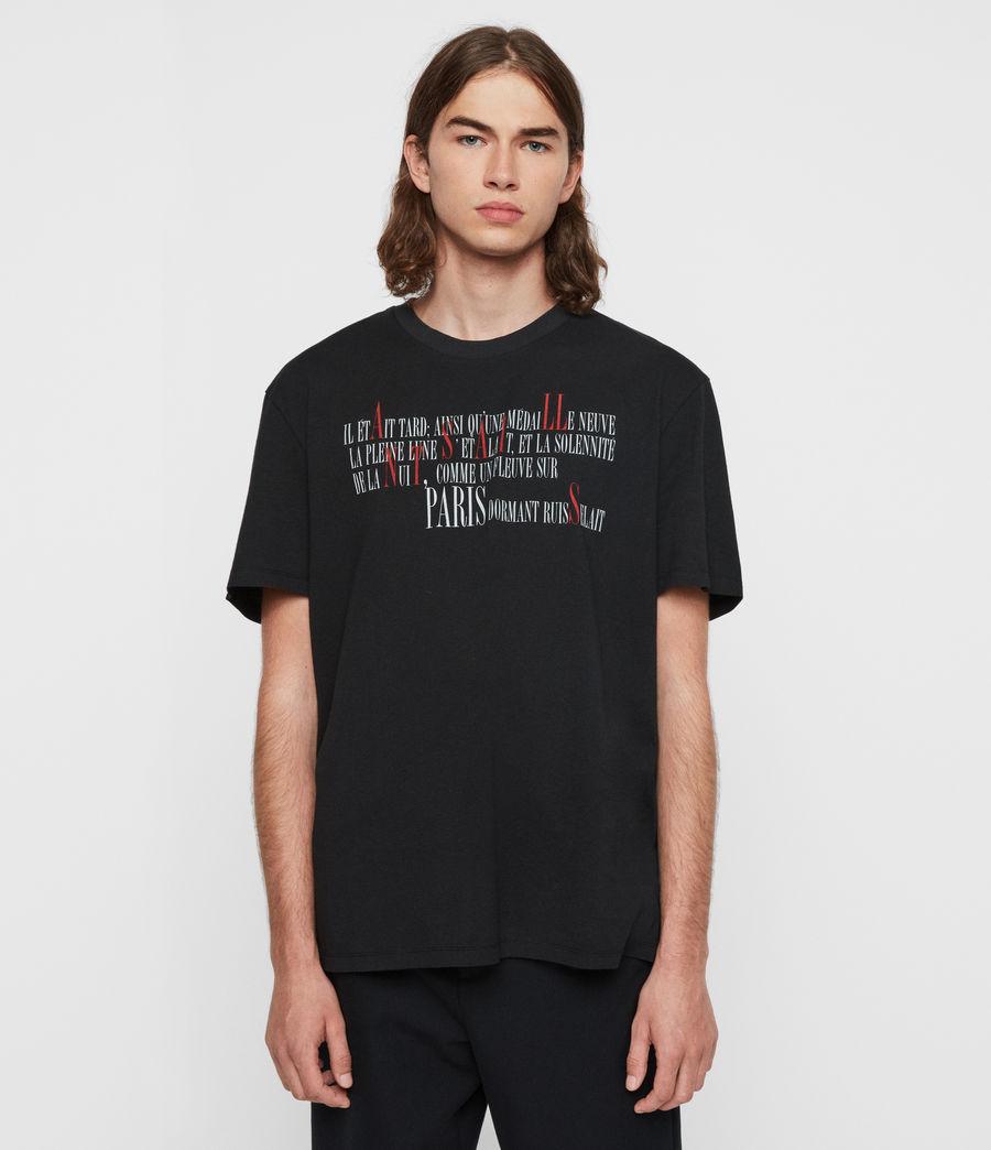 Hommes T-Shirt La Ville (jet_black) - Image 1
