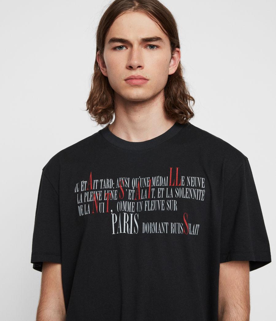 Hommes T-Shirt La Ville (jet_black) - Image 3
