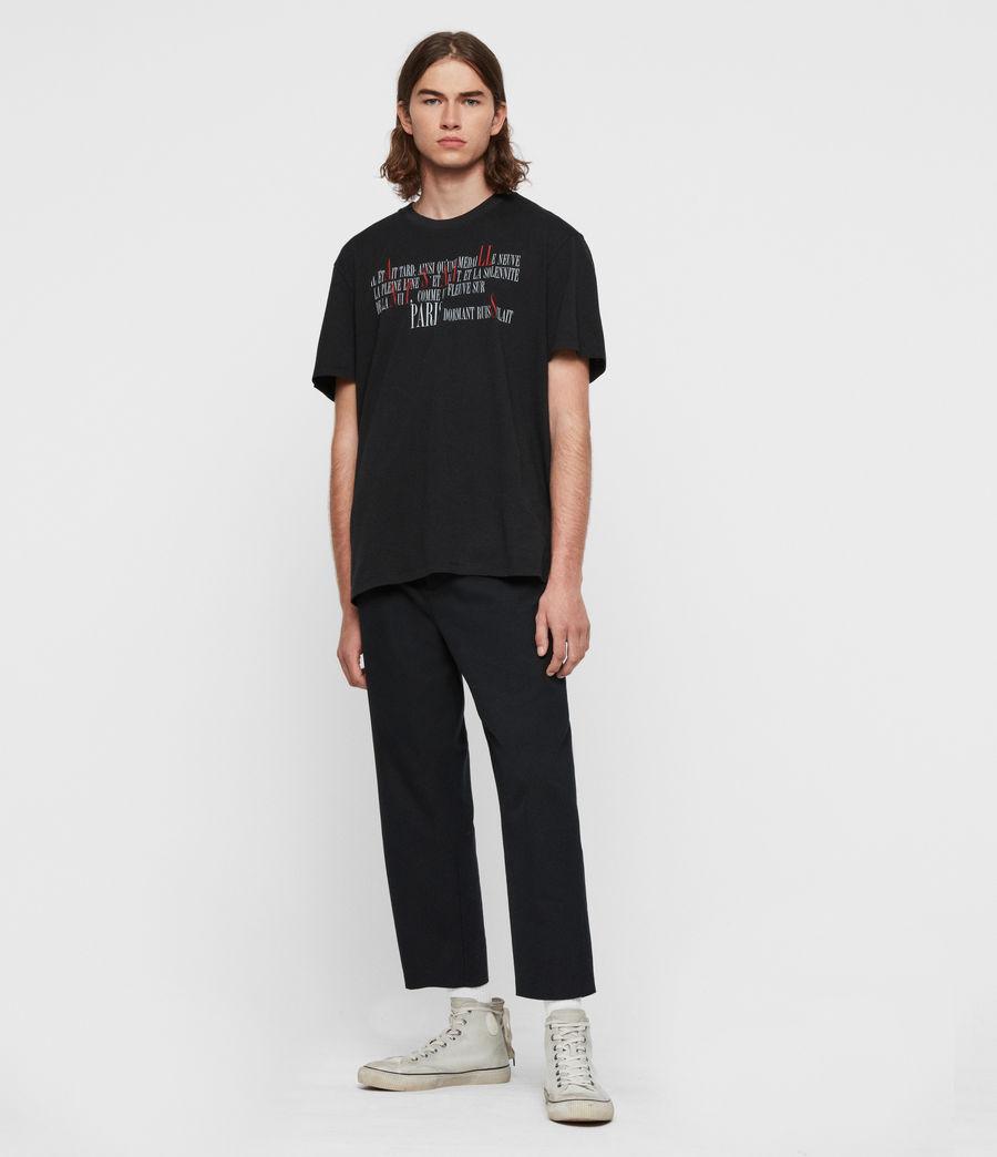 Hommes T-Shirt La Ville (jet_black) - Image 5