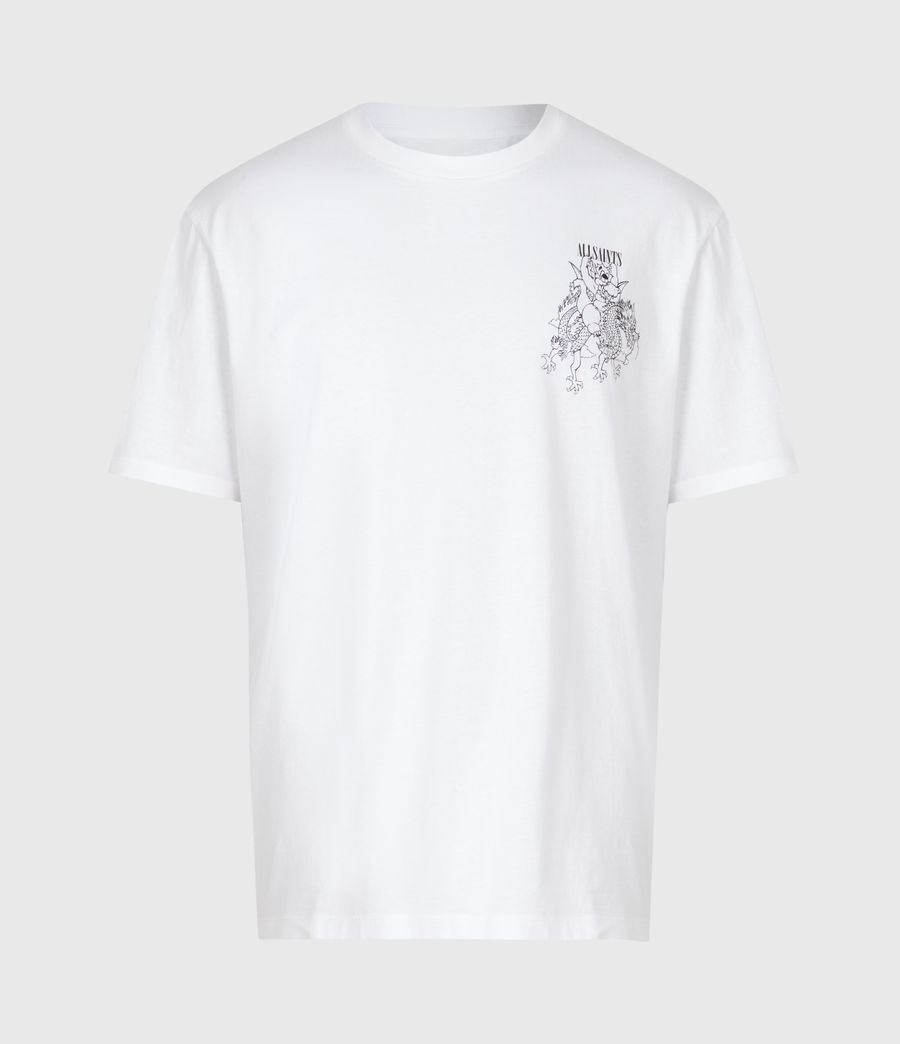 Mens Joyride Crew T-Shirt (optic_wht_jet_blk) - Image 3