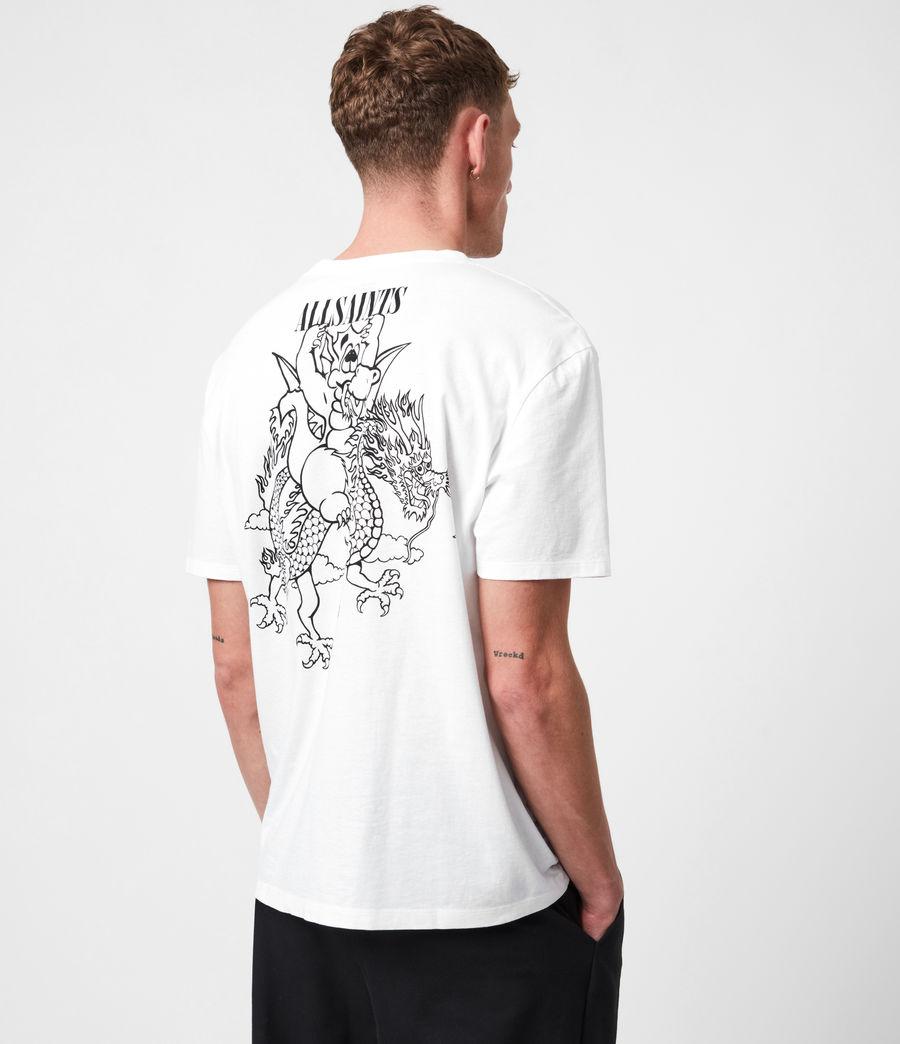 Mens Joyride Crew T-Shirt (optic_wht_jet_blk) - Image 4