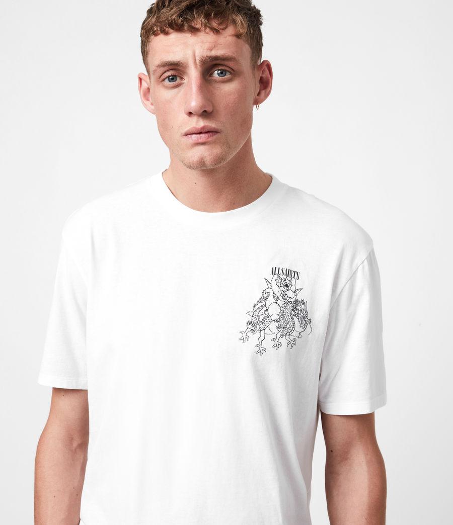 Mens Joyride Crew T-Shirt (optic_wht_jet_blk) - Image 6