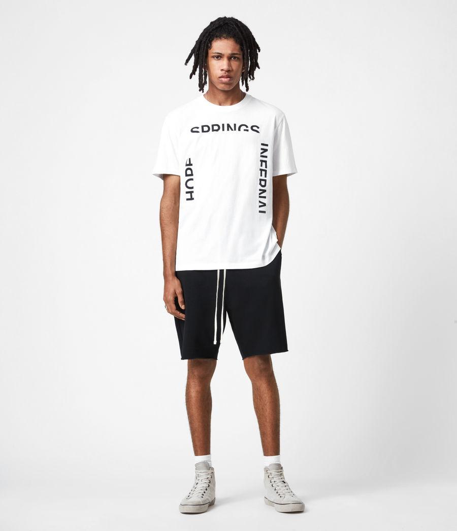 Mens Infernal Crew T-Shirt (optic_white) - Image 6