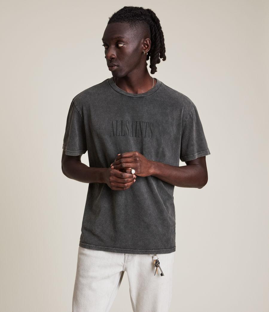 Men's Gallo Crew T-Shirt (washed_black) - Image 2
