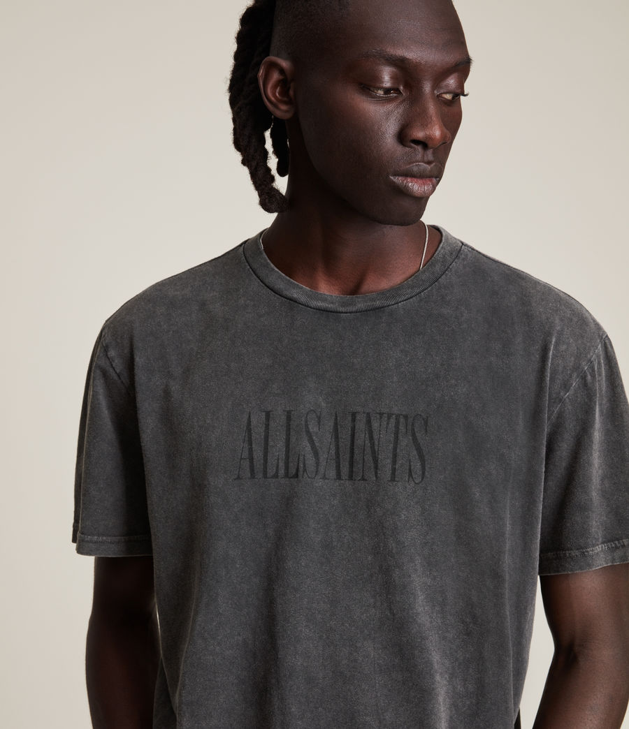 Men's Gallo Crew T-Shirt (washed_black) - Image 4