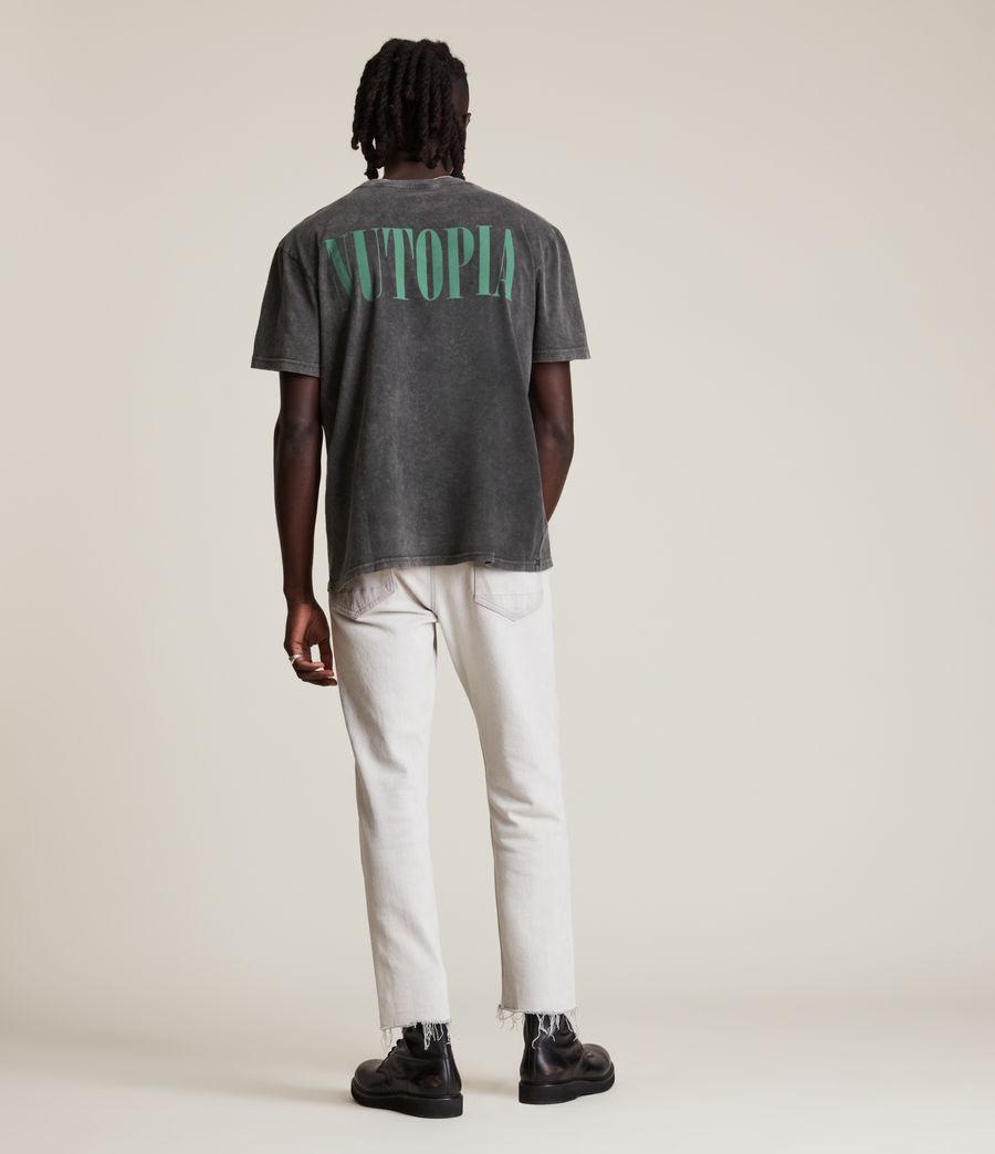 Men's Gallo Crew T-Shirt (washed_black) - Image 6