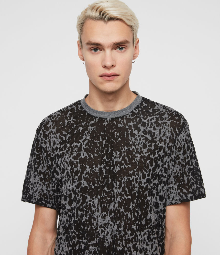 Mens Pardus Crew T-Shirt (coal_grey) - Image 1