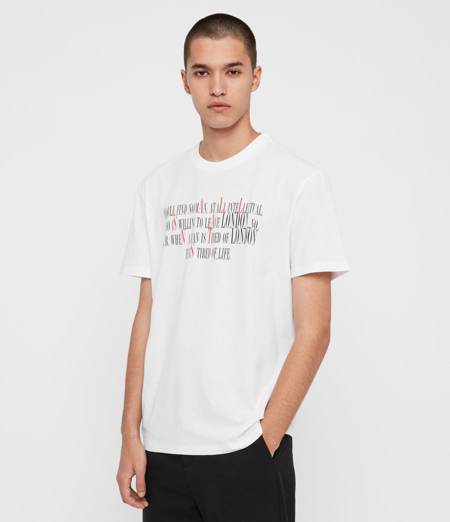 Hommes T-Shirt London Livin (optic_white) - Image 5