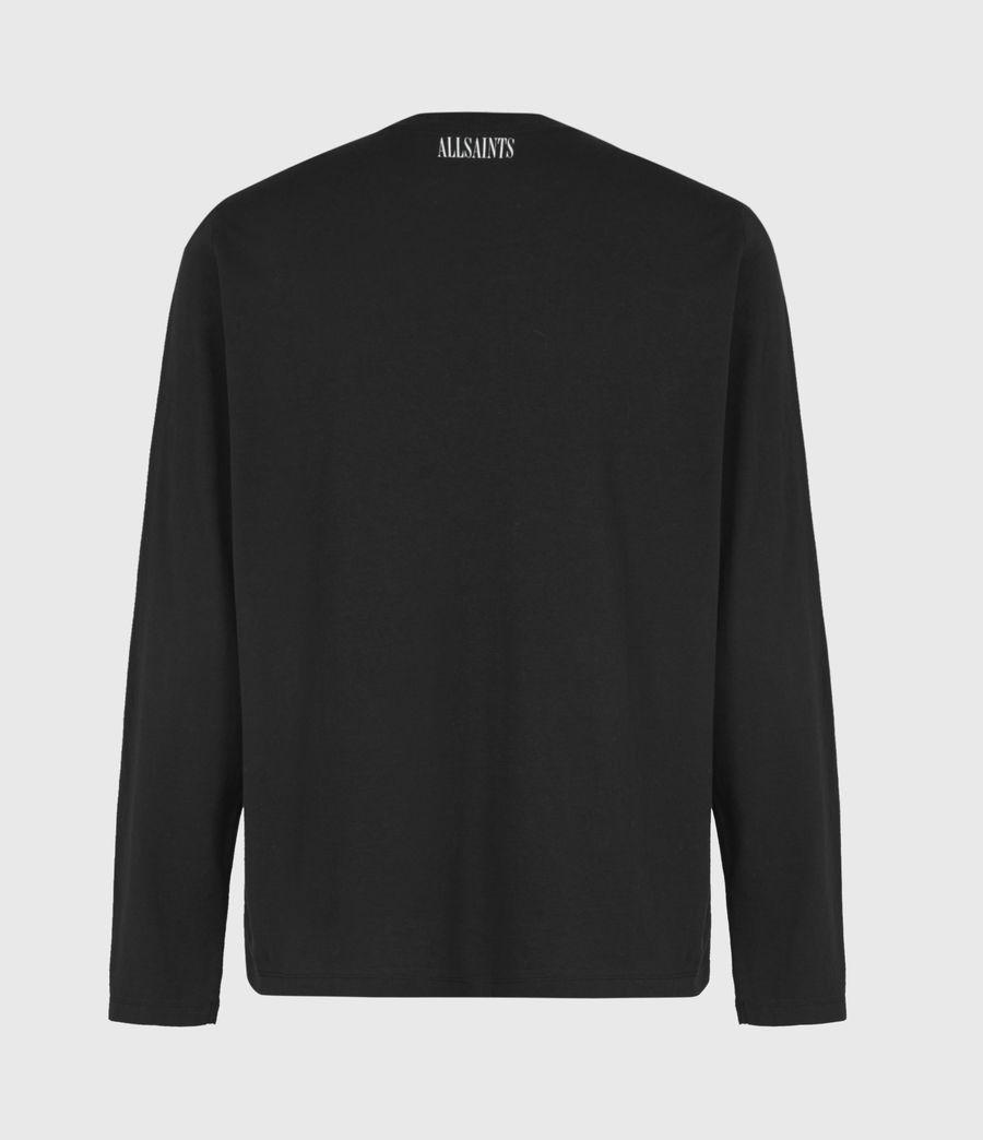 Mens Infernal Crew T-Shirt (jet_black) - Image 3