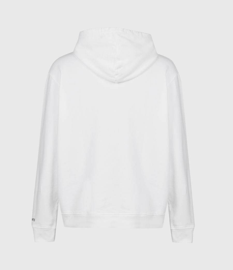 Mens Infernal Pullover Hoodie (optic_white) - Image 3