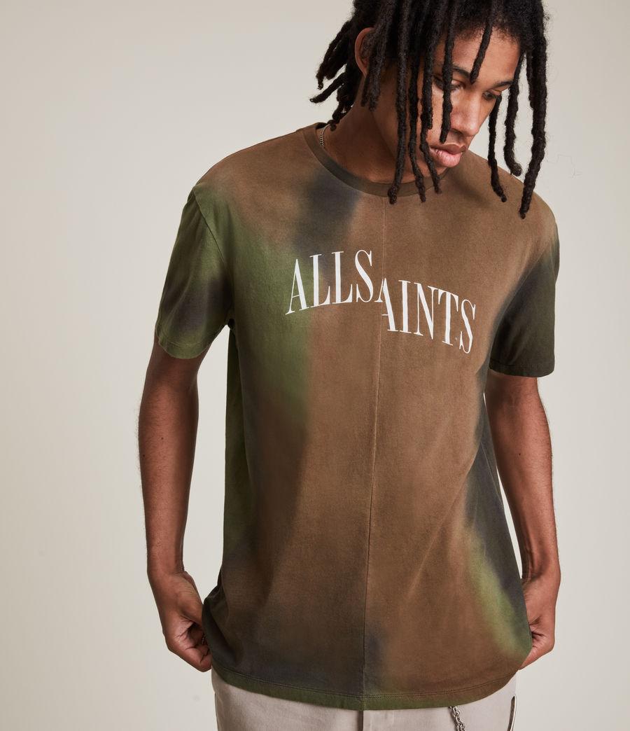 Men's Camo Dropout Crew T-Shirt (meadow_green) - Image 1