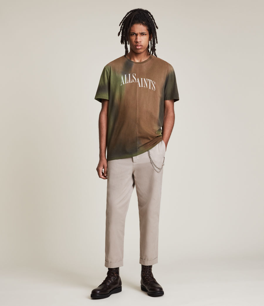 Men's Camo Dropout Crew T-Shirt (meadow_green) - Image 3