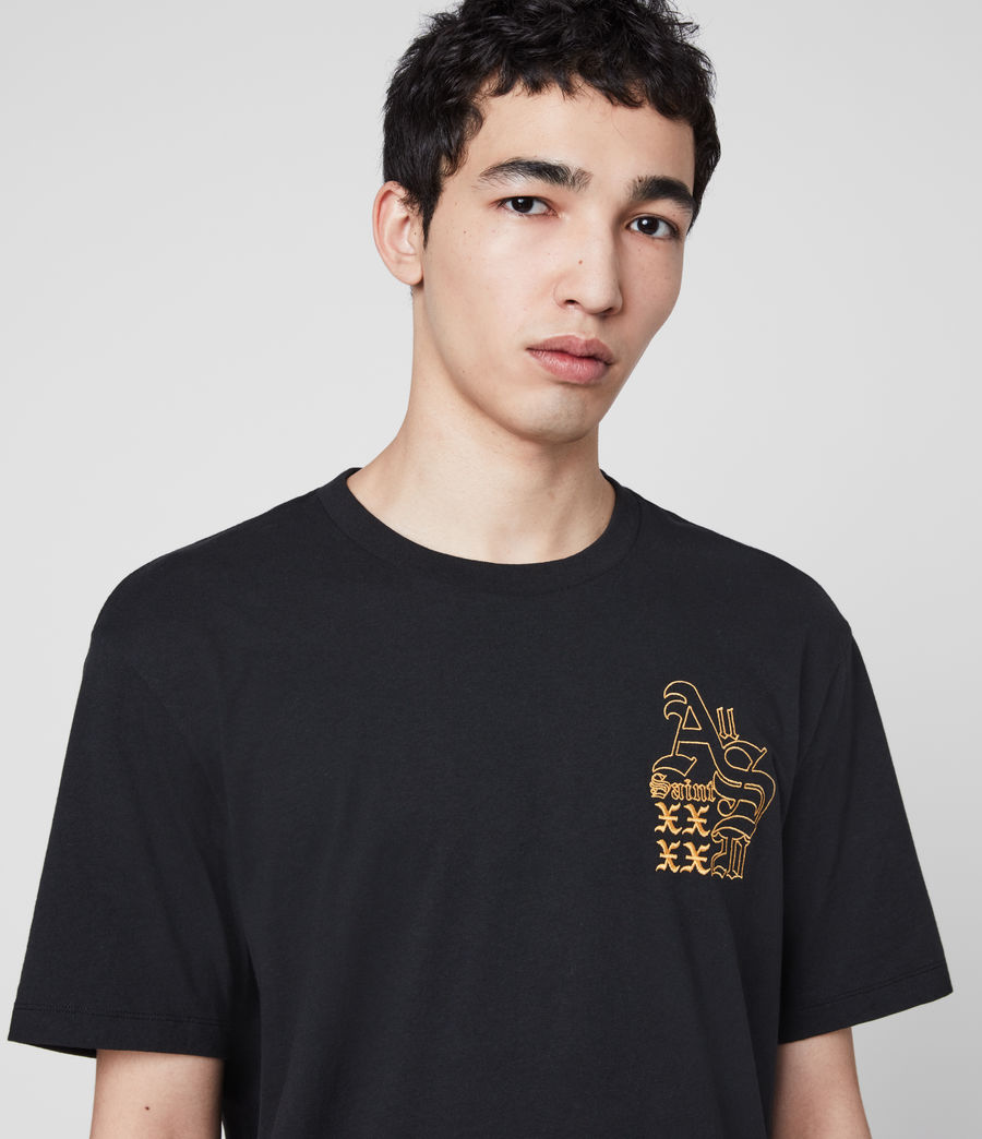 Men's Ex Mono Crew T-Shirt (jet_black) - Image 1
