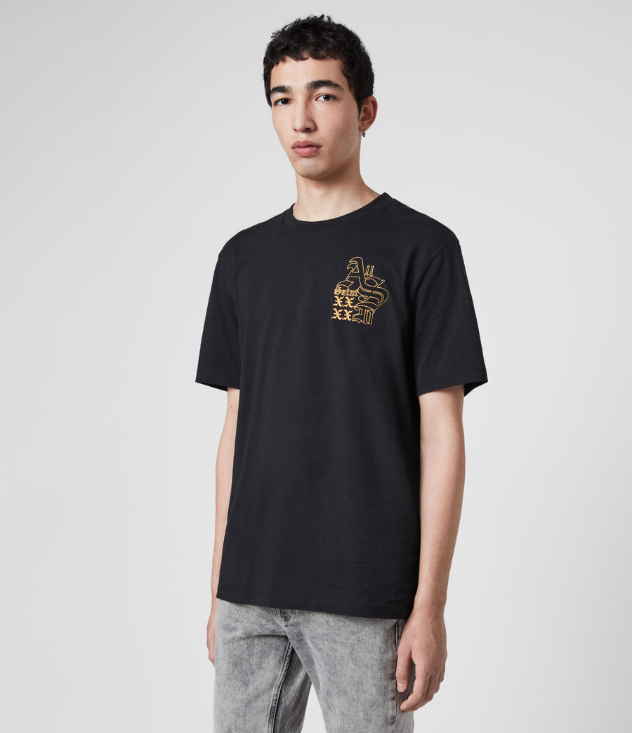 Men's Ex Mono Crew T-Shirt (jet_black) - Image 4