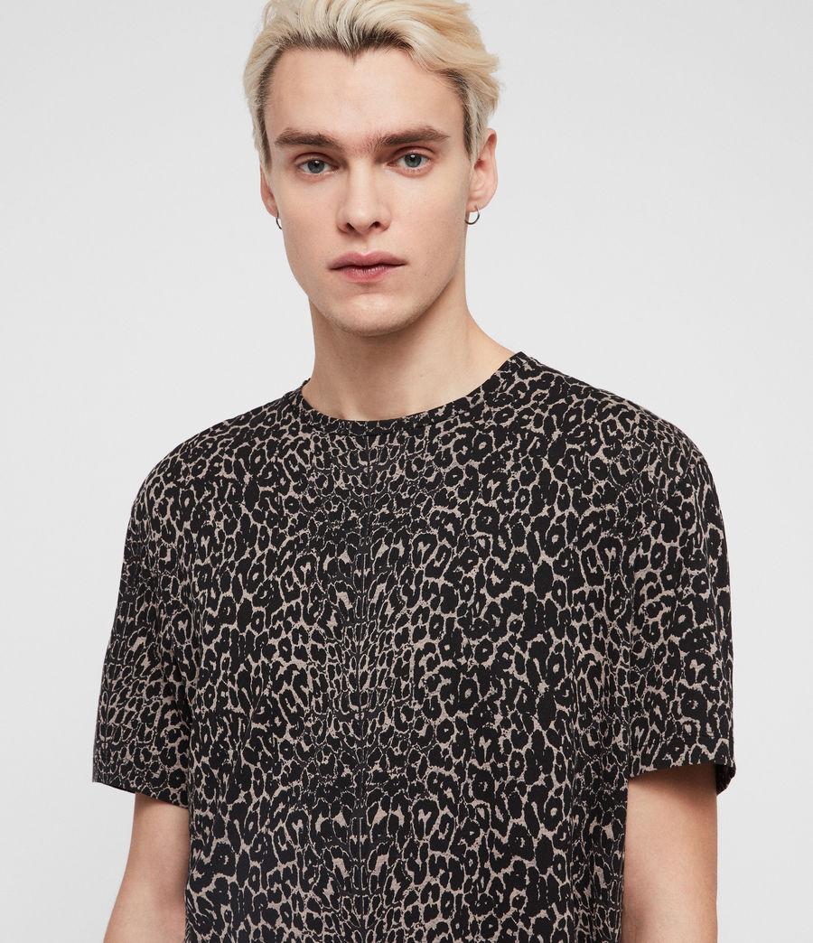 Herren Feline T-Shirt (vintage_black) - Image 2