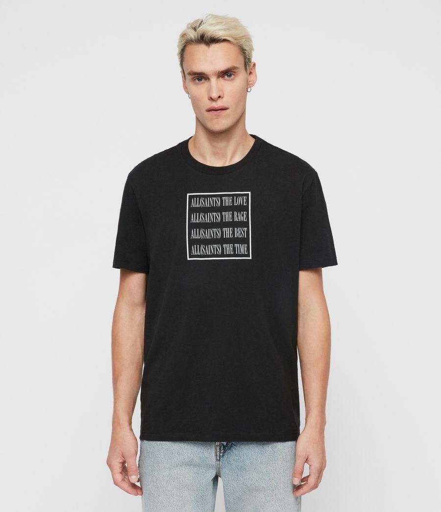 Mens Cube Crew T-Shirt (optic_white) - Image 1