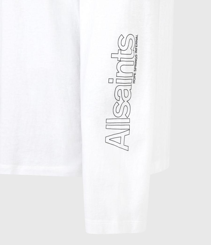 Mens Desert Rose Crew T-Shirt (optic_white) - Image 6