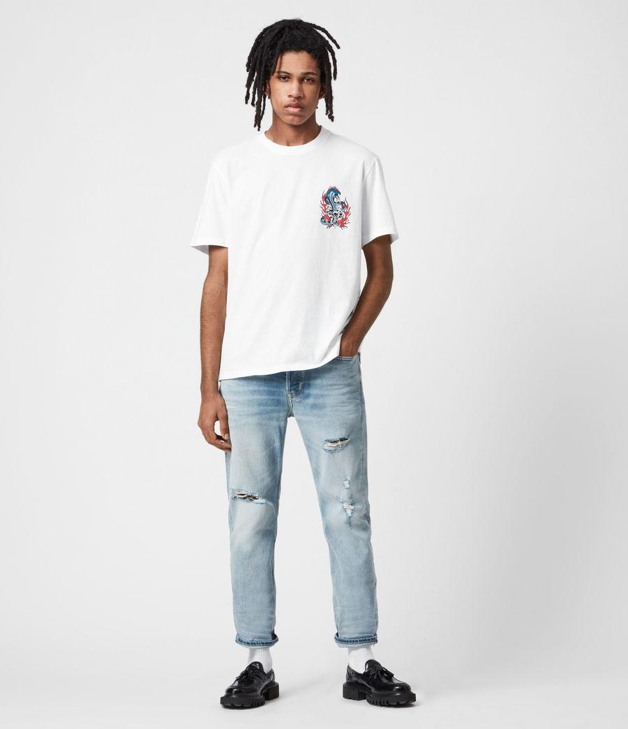 Men's Viper Crew T-Shirt (optic_white) - Image 6
