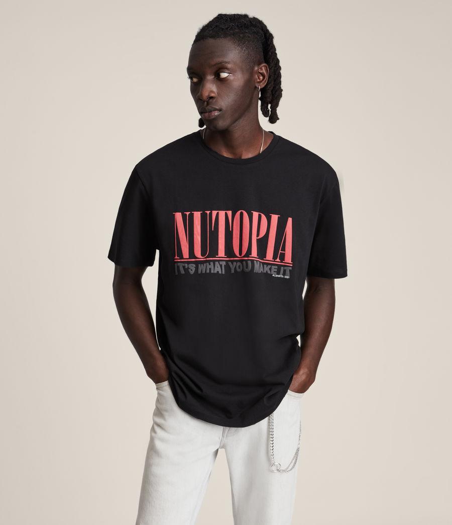 Men's Ninety Crew T-Shirt (jet_black) - Image 2
