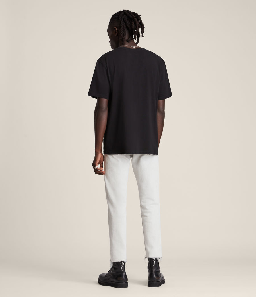 Men's Ninety Crew T-Shirt (jet_black) - Image 5