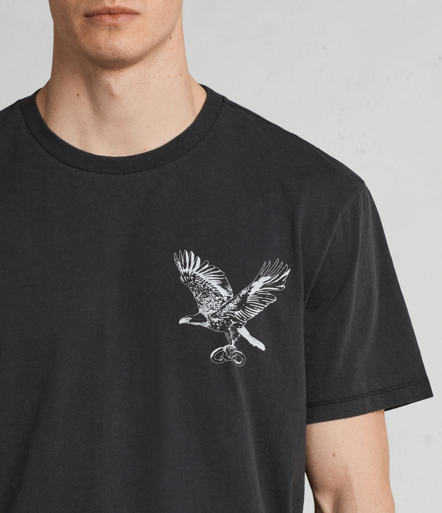 Men's Sunbird Crew T-Shirt (vintage_black) - Image 2