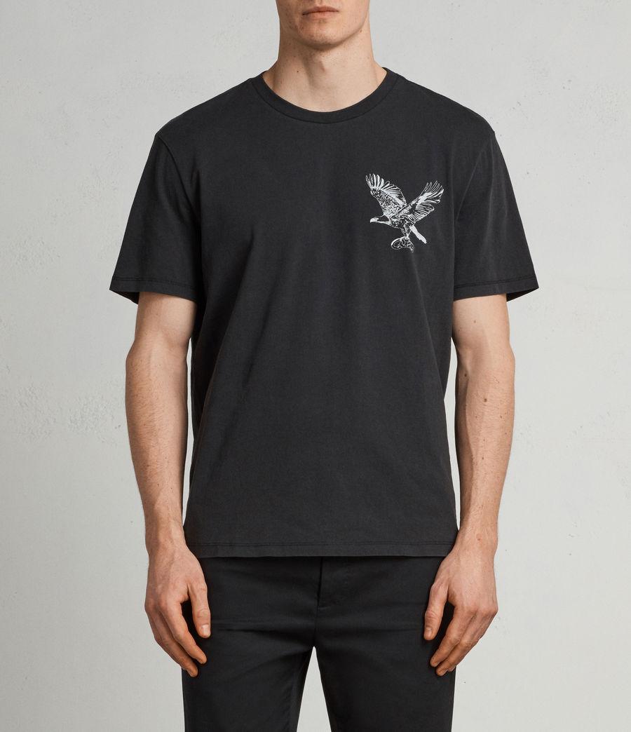 Men's Sunbird Crew T-Shirt (vintage_black) - Image 3
